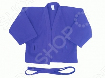 Тренировочная куртка для самбо, без подкладки, ATEMI AX5 изготовлена из 100 хлопка. Куртка с глубоким запахом, боковыми разрезами и длинным рукавом. Все швы, края рукавов и полочек, укреплены дополнительными строчками и лентой с внутренней стороны изделия. Имеются особые прорези для пояса. На плечах добавлены, предназначенные для захвата, выступающие крылышки . Поставляется в комплекте с поясом. Производится в двух вариантах цветов: красном и синем.