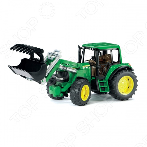 Трактор с погрузчиком Bruder John Deere 6920 tomy britains трактор john deere 6210r