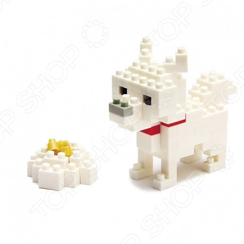 Мини-конструктор Nanoblock NBC_005 «Собака Хоккайдо» конструктор коала nanoblock