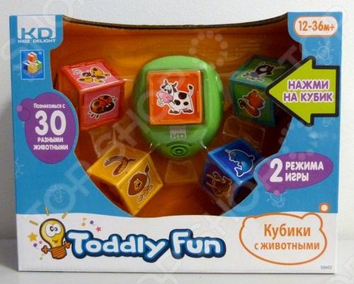 Кубики с животными 1 Toy Т55619