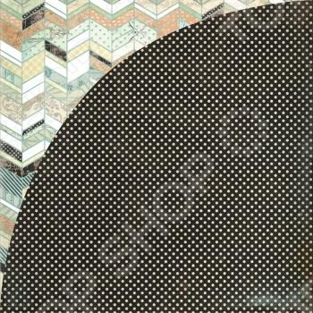 фото Бумага для скрапбукинга двусторонняя Basic Grey Shillings, купить, цена