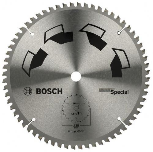 Диск отрезной Bosch Special диск отрезной для ручных циркулярных пил bosch optiline wood 2608640617