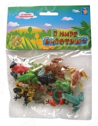 Набор игрушечных лягушек 1 TOY Т50502
