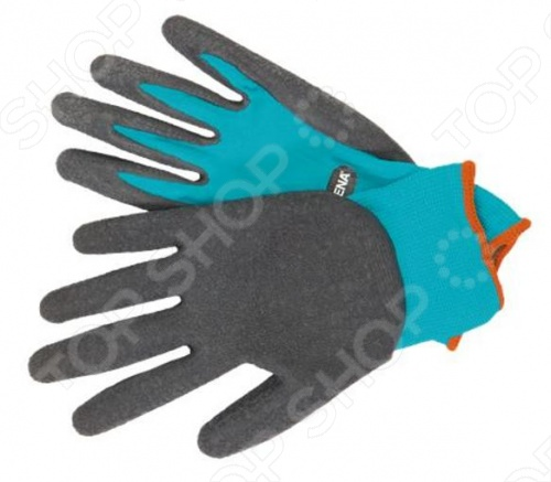 Перчатки садовые для работы с почвой Gardena перчатки без пальцев шерстяные с рисунком розовые