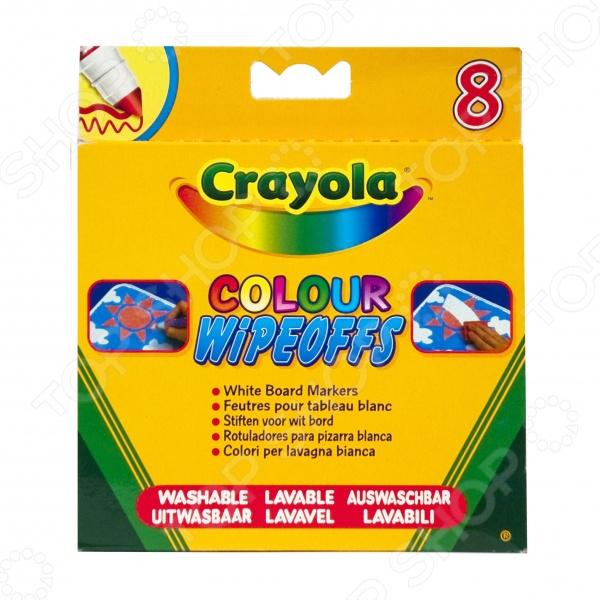 Набор фломастеров Crayola «8 цветов радуги» luxor набор фломастеров штампов color stamper 8 цветов