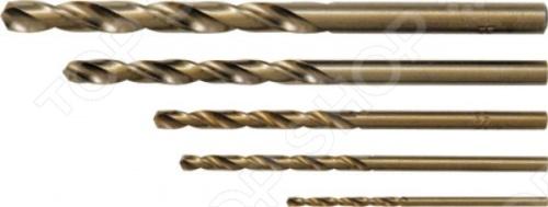 Набор сверл по металлу FIT 34011Наборы сверл<br>Набор сверл по металлу FIT 34011 это отличный набор сверл с двойной резьбой, которые подойдут для перфораторов. Буры созданы для работ по металлу. Материал: быстрорежущая HSS сталь с 5 добавкой кобальта, вышлифованный профиль. В наборе 5 сверл с цилиндрическим хвостовиком. Все предметы упакованы в пластиковый кейс.<br>