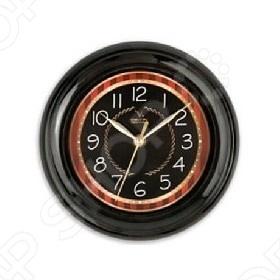 Часы настенные Вега П 6-6-91 Классика черные Вега - артикул: 248394