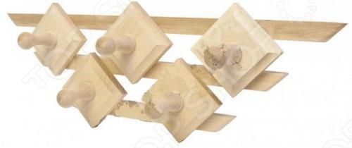 фото Вешалка Банные штучки «Трапеция. 5 крючков», Деревянные вешалки, полки, дверные ручки