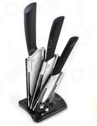 Набор керамических ножей в подставке Irit IRH-532 цена и фото
