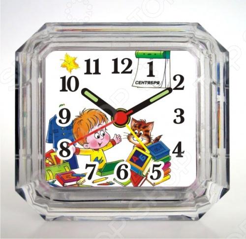 Будильник Вега Б 1-010 «Школьник» будильник спектр кварц 0720 с б