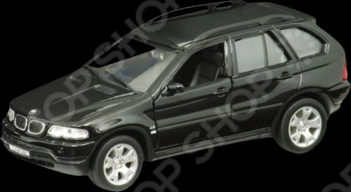 Модель машины 1:31 Welly BMW X5. В ассортименте