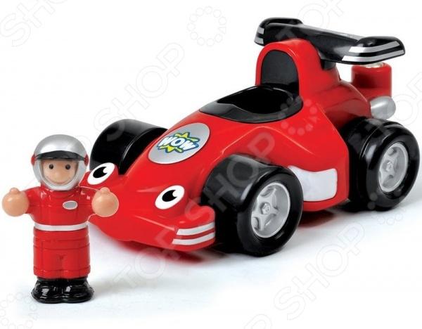 фото Автомобиль гоночный Wow «Гонщик Робби», Машинки