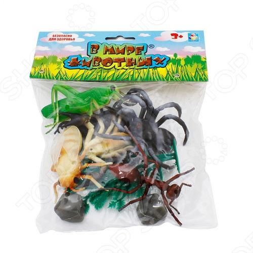Фигурки-игрушки 1 Toy Т53857 Насекомые игровые фигурки смешарики фигурки gt7894 3 шт