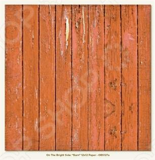 фото Бумага для скрапбукинга двусторонняя Morn Sun Barn, купить, цена