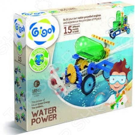 Конструктор развивающий Gigo «Энергия воды» конструктор развивающий fanclastic роботоводство