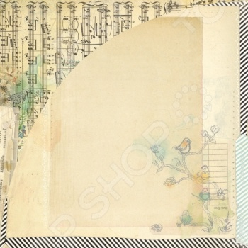 фото Бумага для скрапбукинга двусторонняя Basic Grey Chemise, купить, цена