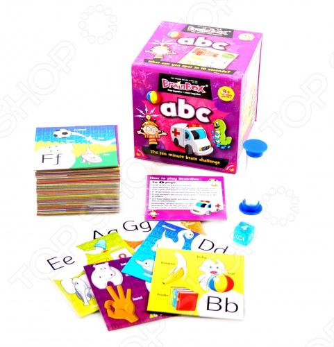 Настольная игра BrainBox Сундучок знаний. ABC сундучок знаний настольная игра сундучок знаний космос brainbox