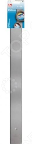 Планка для контейнеров Prym 612590Полезные мелочи для хранения<br>Планка для контейнеров Prym 612590 представляет собой удобное приспособление для хранения металлических коробочек и контейнеров. Модель изготовлена из высококачественного металла и оборудована мощной магнитной основой, легко крепится к стене или дверце шкафа. Длина планки составляет 53 см.<br>