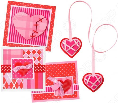 Набор для творчества Alex «С любовью» наборы для творчества alex набор для вышивания любовь