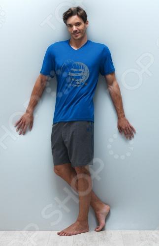 Пижама BlackSpade 7140. Цвет: синий