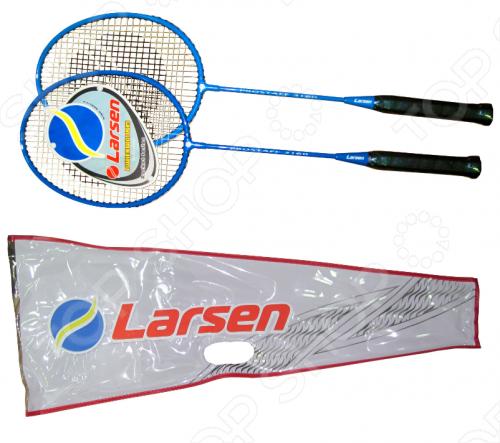 Набор для бадминтона Larsen 3160PRO сумка для ракеток larsen wb020d красный