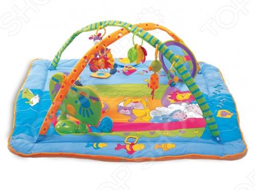 tiny love развивающий коврик разноцветное сафари tiny love Развивающий коврик Tiny love Зоосад