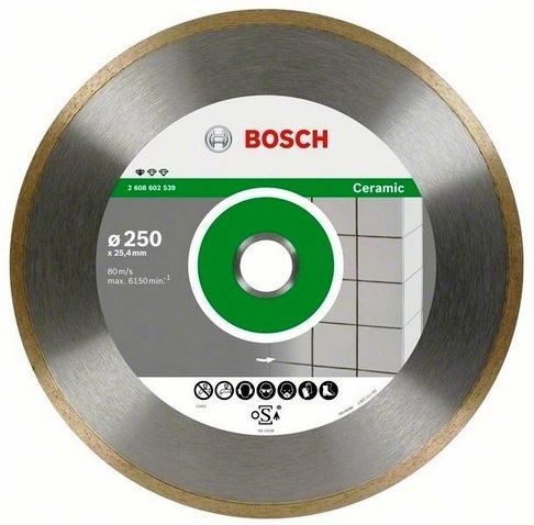 Диск отрезной алмазный для резки плитки Bosch Professional for Ceramic 2608602541