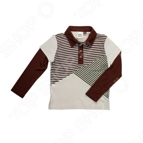 Дизайнер и поклонник гольфа из Калифорнии Пол Нгуйен создает модную одежду уже более 14 лет. Любовь к игре в гольф и рождение его малышей вдохновила на создание собственной линии одежды для маленьких модников. При создании коллекции Пол опирался на историю гольфа и собственный вкус, вводя новшества и создавая модный, современный стиль. Fore!! Axel and Hudson создаёт большинство своих изделий из супермягкого и экологичного бамбукового волокна. Ткань из бамбука имеет множество замечательных свойств. Первое и самое важное, это его необыкновенная мягкость при носке ощущается как шелковый кашемир. Это высококлассный продукт: он гипоалергенный и терморегулируемый, легок в уходе можно стирать при 40 градусах, как и обычный хлопок . Ткань из бамбука не пропускает УФ-излучение. Прекрасное поло с длинным рукавом Fore!! Axel and Hudson, выполненное из натурального материала нейтрального оттенка. Модель с небольшой застежкой на пуговицы оформлена контрастной отделкой. Отличный вариант для детского гардероба. Бамбуковая ткань - это натуральный материал, в прохладную погоду бамбук помогает сохранить тепло, а в теплую - легко его отдает. Другими словами, ваши детки не замерзнут зимой и не вспотеют летом. Бамбук впитывает на 60 больше влаги, чем хлопок, при этом обладает естественными противомикробными свойствами, имеет натуральные поры, благодаря чему ткань отлично дышит и приятно ощущается на коже. Cтойкая окраска, не подвержена линьке и потере цвета, дарит повышенный комфорт при носке.
