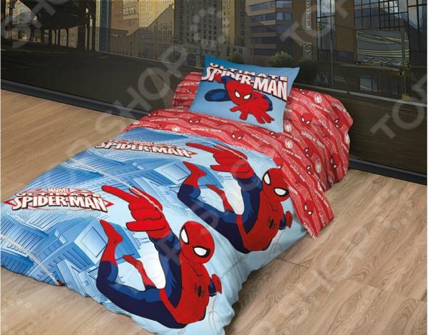 Детский комплект постельного белья MARVEL «Spider Man Великий» детский комплект постельного белья непоседа урок