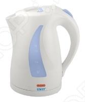 Чайник Unit UEK-243 станет отличным помощником на вашей кухне. Оснащен защитой от перегрева и блокировкой включения без воды. После закипания воды, чайник автоматически выключается.