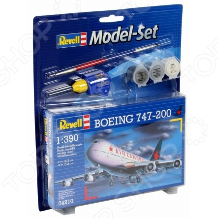 Сборная модель пассажирского самолета Revell Boeing 747 free shipping m14 45 carbon bolt hardware nuts and bolts 2 pcs lot
