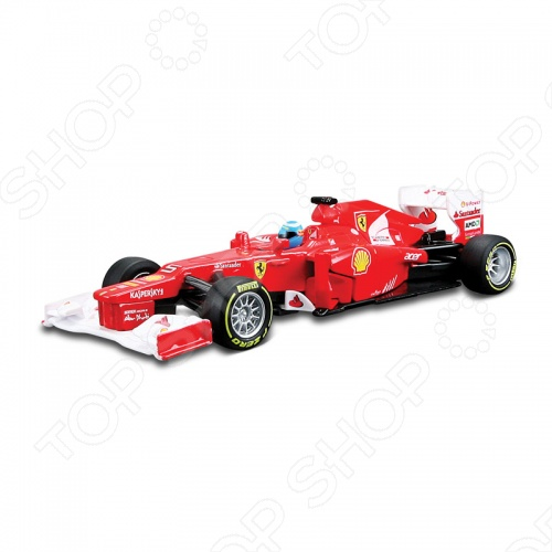 Модель автомобиля с пультом 1:32 Bburago Формула-1 Ferrari