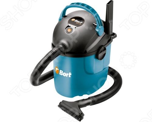 Пылесос промышленный Bort BSS-1010 bort bss 1230 98291070 пылесос промышленный silver black