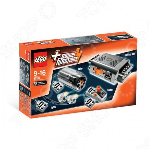 Конструктор LEGO Набор с мотором Power Functions - это шанс оживить ваши модели Лего с помощью этого набора. Здесь есть двигатель, коробка батареи, легкий кабель, выключатель и дополнительные части, чтобы добавить новые функции к вашим моделям. С помощью этого устройства вы сможете моторизовать все наборы серии Техник. Подойдет детям старше 9 лет. Конструктор LEGO Набор с мотором Power Functions содержит 10 деталей.