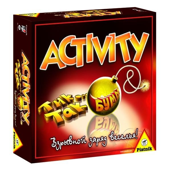 Игра настольная для компании Piatnik «Activity + Tик Так Бумм» настольная игра activity кодовое слово