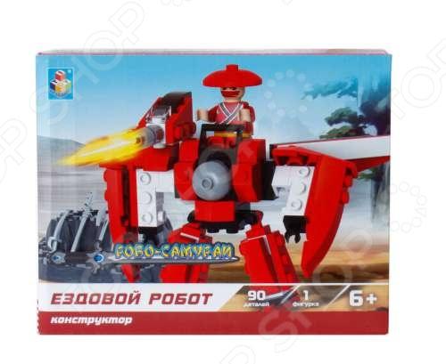 Конструктор игровой 1 Toy «Робосамураи. Ездовой робот» сани для ездового спорта продам