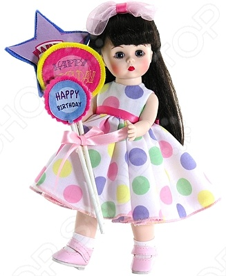 Кукла Madame Alexander «Брюнетка с шариками»