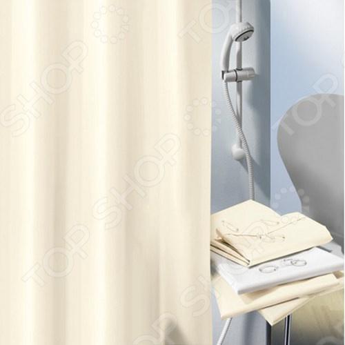 Штора для ванной комнаты Spirella ALTROКарнизы. Шторки для ванной<br>Штора для ванной комнаты Spirella ALTRO это отличная штора, которая изготовлена из экологически чистого полиэстера. Верхняя кромка имеет отверстия для колец. Приятный цвет успокаивает и замечательно вписывается в дизайн вашей ванной комнаты. Если необходимо очистить поверхность, то рекомендуется ручная стирка.<br>