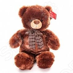 Мягкая игрушка AURORA Медведь 21-237Мягкие игрушки<br>Игрушка мягкая AURORA Медведь 21-237 - это замечательный подарок для маленького ребенка. Данная модель привлекает внимание благодаря своему оригинальному дизайну и качественному выполнению. Мягкая игрушка принесет радость и подарит своему обладателю мгновения нежных объятий и приятных воспоминаний. Она выполнена из высококачественного текстиля с набивкой из синтепона. Великолепное качество исполнения делают эту игрушку чудесным подарком к любому празднику. Игрушка просто очаровательна и не сможет оставить равнодушным ни одного человека.<br>