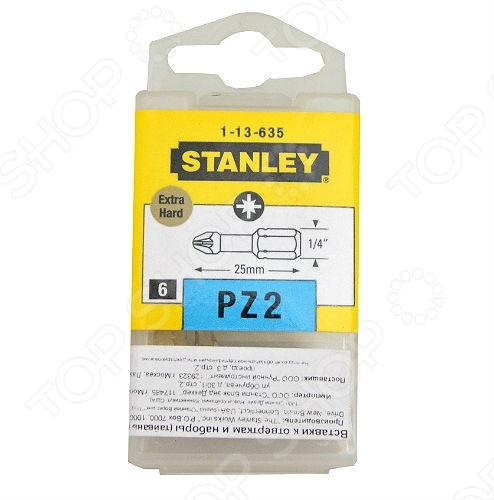 Набор вставок отверточных Stanley Expert Extra Hard 1-13-635 цена