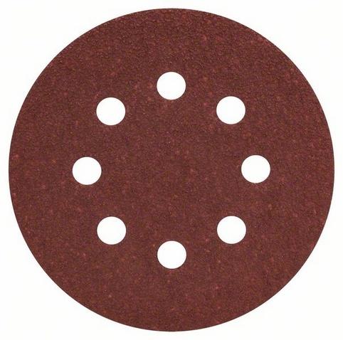 цены  Набор листов для эксцентриковой шлифмашины Bosch Best for Wood, 8 отверстий, 50 шт.