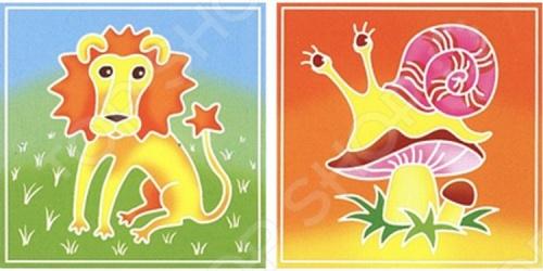 Набор для росписи ткани RTO BK-011/012Роспись по ткани<br>Набор для росписи ткани RTO BK-011 012 - эксклюзивный продукт на российском рынке. По контуру изображения нанесен воск, благодаря чему краски не растекаются, а рисунок быстро приобретает нужные очертания. В набор входят два отреза ткани с контурным рисунком, картонный каркас с креплением из самоклеющейся ленты, кисть для рисования, три сухие краски для разведения водой:красная, желтая, синяя, фиксатор краски. Набор упакован в прозрачный пакет, в комплект входит подробная иллюстрированная инструкция.<br>
