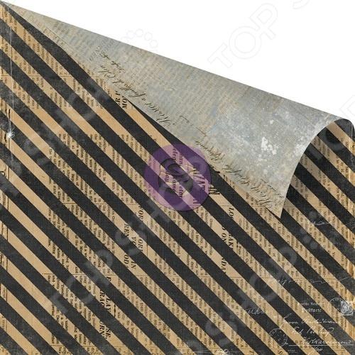 фото Бумага для скрапбукинга Prima Marketing Stamps & Stripes, купить, цена