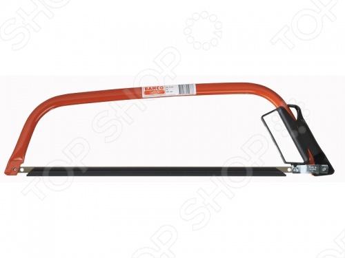 Пила лучковая BAHCO SE-15Лобзики. Ножовки. Пилы<br>Пила лучковая BAHCO SE-15 пригодится для любых видов работ. Данная модель очень удобна в использовании. Может быть использована для строительных работ или в хозяйстве. Оснащена полотном с трехгранными зубьями - для легкого пропила. Защита пальцев гарантирует безопасность при работе. Благодаря индукционной закалке зубьев повышен срок службы пилы.<br>