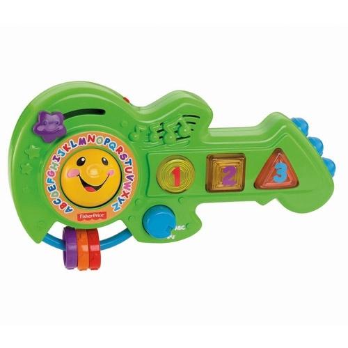 фото Гитара музыкальная Fisher Price «Смейся и учись», Игрушечные музыкальные инструменты