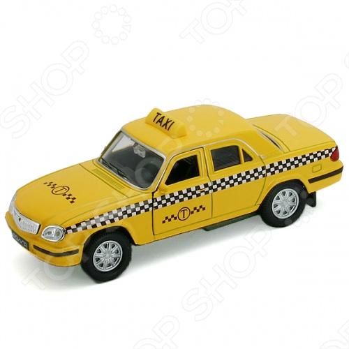 Модель автомобиля 1:34-39 Welly Волга «Такси»Модели авто<br>Модель автомобиля 1:34-39 Welly Волга Такси представляет собой точную копию настоящего автомобиля. Коллекционная модель выпущена известной компанией по производству игрушек Welly. Особенность коллекции в том, что все модели изготовлены по лицензии именитых автопроизводителей. Машинка изготовлена из металла с элементами пластика. У нее инерционный механизм, открываются передние двери. Модель 1:34-39 Волга Такси является отличным подарком не только ребенку, но и коллекционеру.<br>
