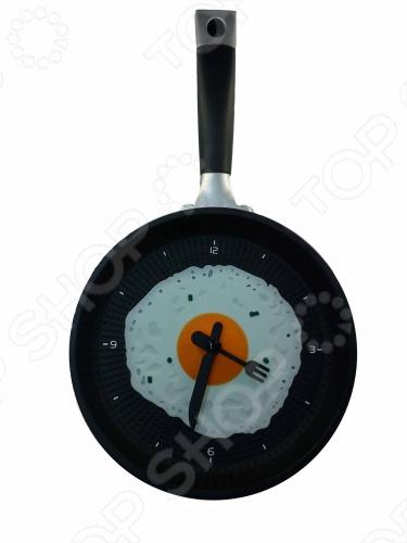 Часы настенные «Яичница на сковороде» - артикул: 254885