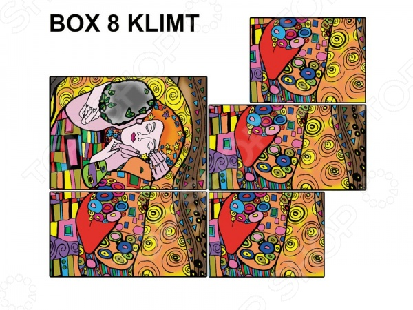 Коробка-раскраска Color Velvet «Климт»Наборы для раскрашивания<br>Коробка-раскраска Color Velvet Климт позволят творческим личностям любого возраста провести время с пользой, ведь в наборе уже есть все необходимое для создания функциональной подарочной коробочки. Уникальной особенностью данного набора можно считать мягкие контуры нанесенного рисунка, что обеспечит раздельное нанесение различных цветов и не даст фломастерам растечься. В комплект входят 10 фломастеров.<br>
