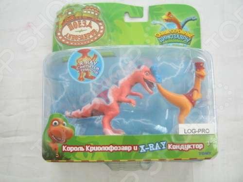 Набор фигурок динозавров Т57095 игровые наборы tomy набор поезд динозавров кондуктор с вагончиком