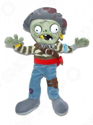 Мягкая игрушка Plants vs Zombies «Зомби-моряк»Мягкие игрушки<br>Игрушка мягкая Plants vs Zombies Зомби-моряк это замечательный подарок малышу, обожающему игру Plants vs Zombies Растения против Зомби ! Этот персонаж вызовет настоящий восторг, поднимет настроение и вызовет улыбку. Игрушка изготовлена из высококачественных материалов, которые абсолютно безвредны для ребенка. Забавный персонаж украсит любую детскую комнату и принесет радость и веселье во время игр. Игрушка мягкая Зомби-моряк поможет развить тактильные навыки, зрительную координацию и мелкую моторику рук.<br>